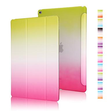 Good quality PU leather rainbow gradient holster for iPad Mini 3/2/1