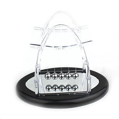 şeffaf yansıma ayna Newton'un beşiği denge topları bilim sarkaç masaüstü oyuncak yükseltme