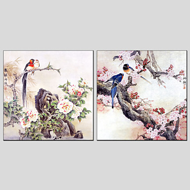 Hand-Painted Pop Art Classic Modern Traditional European Style Canvas Oil Painting Home Decoration Two Panels