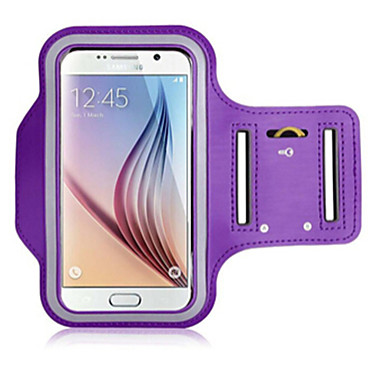 Case For Universal with Windows Armband Armband Solid Color Soft Textile for S6 edge S6 S5 S4 S3