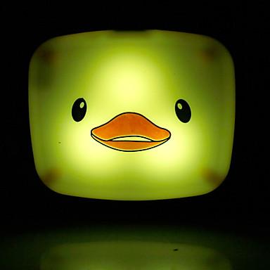 a economia de energia pato dos desenhos animados levou-operado luz modalidade noite lâmpada de luz