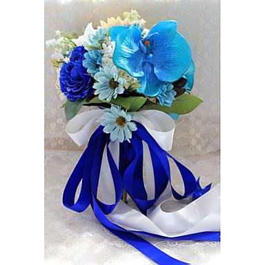 Esküvői virágok Csokrok Esküvő Party / estély Poliészter Szatén 13,38