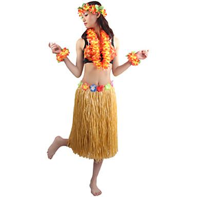 Hawaii Szerepjáték Jelmezek Jelmez Bulikra Uniszex Mindszentek napja Farsang Fesztivál / ünnepek Mindszentek napi kösztümök Rózsa Piros