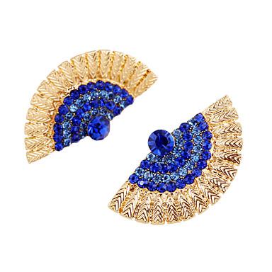 Naušnica Sitne naušnice Jewelry 1 par Vjenčanje / Party / Dnevno Legura Tamno plava / Zlatna