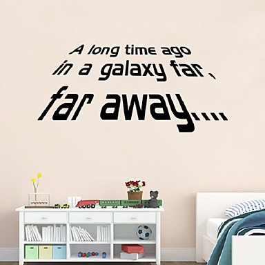 Decorative Wall Stickers - Words & Quotes Wall Stickers