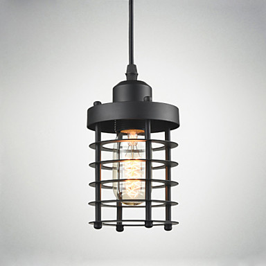 Privjesak Svjetla ,  Modern/Comtemporary Traditional/Classic Rustic/Lodge Vintage Retro Fenjer Zemlja Painting svojstvo for LED Metal