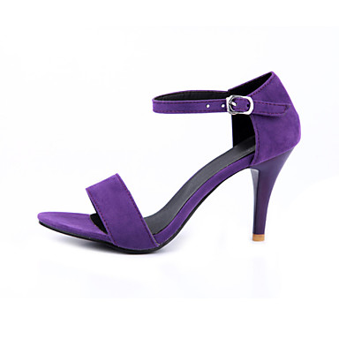 Ženske cipele - Sandale - Ured i karijera / Formalne prilike / Ležerne prilike - Baršun / Tkanina - Stiletto potpetica -Štikle / Cipele