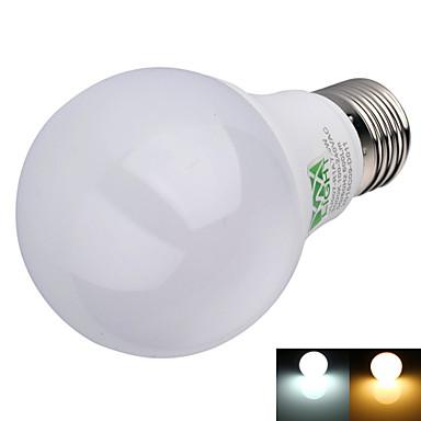 YWXLIGHT® 600 lm E26/E27 LED-globepærer A60(A19) 16 leds SMD 2835 Dekorativ Varm hvit Kjølig hvit AC 100-240V