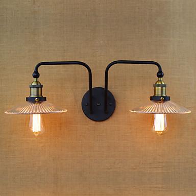 AC 100-240 40W E26/E27 Moderni Galvanoitu Ominaisuus for Lamppu sisältyy hintaan,Ympäröivä valo Seinälampetit Wall Light