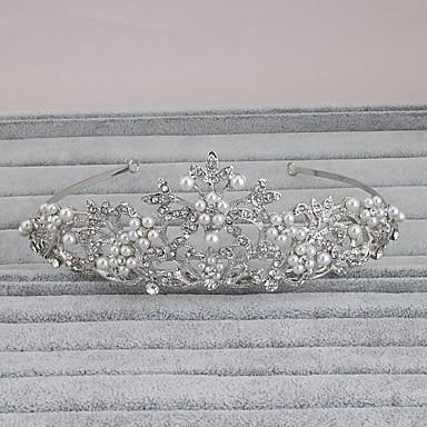 Strass Tiara Kopfschmuck Hochzeitsparty elegante weibliche Stil