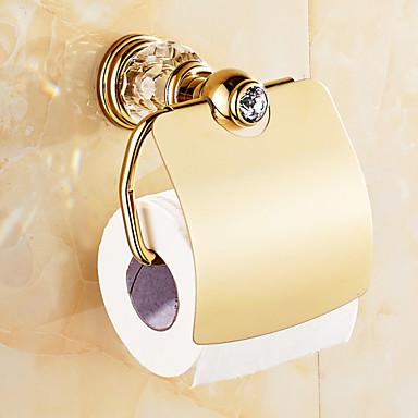 Toilet Paper Holder / Antique Copper Zinc Alloy /Neoclassical