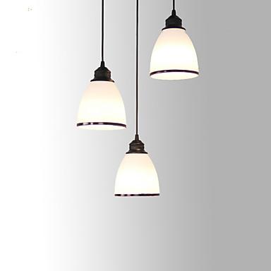 3-luz Luzes Pingente Luz Superior - Estilo Mini, 110-120V / 220-240V Lâmpada Não Incluída / 10-15㎡ / E26 / E27