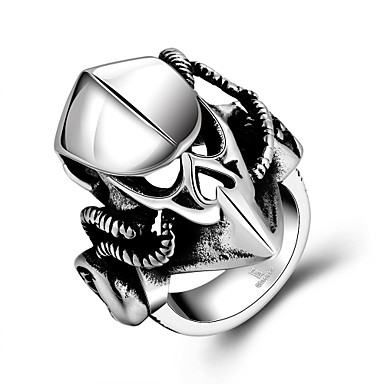 Women's Statement Ring - Fashion One Size Black For Party