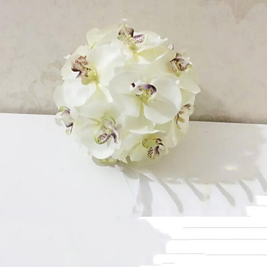 18 cm High Quality Phalaenopsis Bouquet Simulation Artificial Flower for Wedding