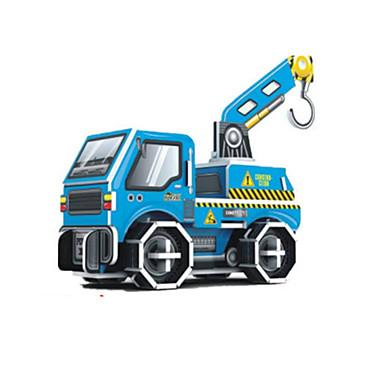직소 퍼즐 3D퍼즐 빌딩 블록 DIY 장난감 지게차 종이 그레이 / 브라운 / 화이트 / 실버 모델 & 조립 장난감