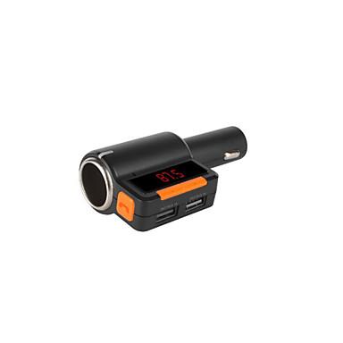 fm transmissor Bluetooth com o carro mais leve, transmissor fm / mp3 carregador / leitor de carro sem fio universal