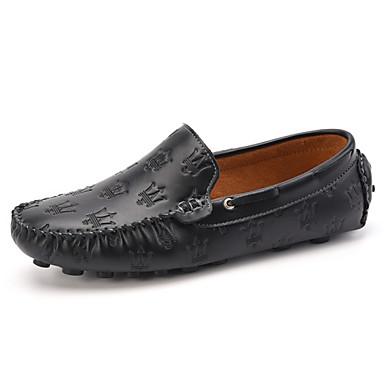 Muške Udobne cipele Koža Proljeće Ljeto Jesen Zima Kauzalni Zabava i večer Udobne cipele Obala Crn žuta