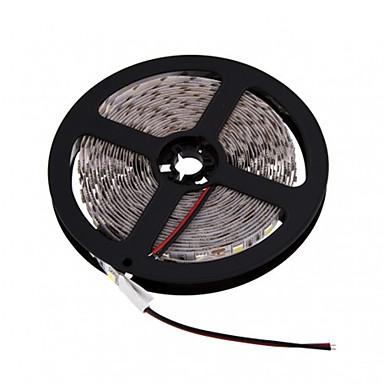 Fleksible LED-lysstriper 300 LED Varm hvit Hvit Kuttbar DC 12V DC 12 V