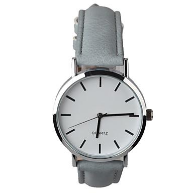 Damen Armbanduhr Quartz Schlussverkauf PU Band Analog Charme Modisch Grau - Weiß Grau Ein Jahr Batterielebensdauer / Tianqiu 377