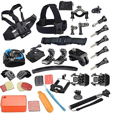 헤드 스트랩 / 클립 / 스크루 조절가능 / 먼지 방지 / 플로팅 에 대한 액션 카메라 전체 / Gopro 5 / Xiaomi Camera 파도타기 / 다이빙 / 스키 TPU / 플라스틱 - 40pcs