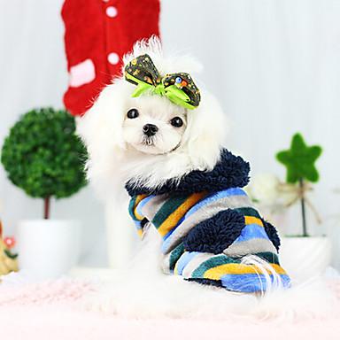 Koira Takit Koiran vaatteet Hengittävä Muoti Sininen Khaki Asu Lemmikit