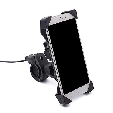 스위치와 오토바이 모바일 스탠드 홀더 전자 드라이버 모바일 충전기 홀더 USB 인터페이스