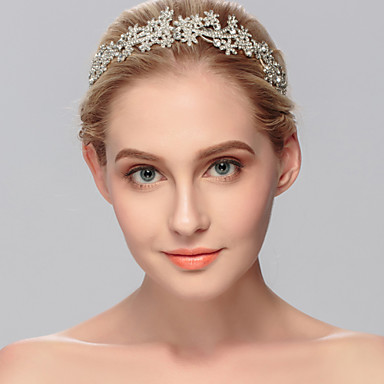 Žene Umjetno drago kamenje Glava-Vjenčanje Special Occasion Neformalan Ured i karijera Outdoor Trake za kosu 1 komad