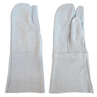 heiße Art beliebte Doppel Kuhhaut Gartenhandschuhe der heißen Art (2 / Set)
