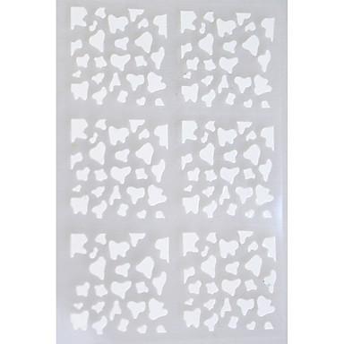 5 Nail Art naljepnica Sažetak šminka Kozmetički Nail art dizajn