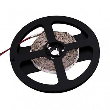5m Flexible LED Light Strips 600 LEDs 3528 SMD Warm White / White Cuttable 12 V / IP44