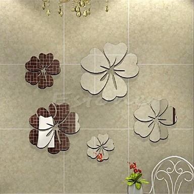 Tiere Menschen Stillleben Romantik Mode Formen Retro Feiertage Cartoon Design Freizeit Fantasie Wand-Sticker Spiegel Wandsticker