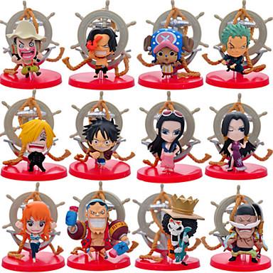 애니메이션 액션 피규어 에서 영감을 받다 One Piece Monkey D. Luffy CM 모델 완구 인형 장난감
