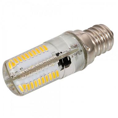 abordables Ampoules électriques-1pc 4 W 300-350 lm E12 / E17 / E11 Ampoules Maïs LED T 80 Perles LED SMD 3014 Intensité Réglable / Décorative Blanc Chaud / Blanc Froid 220-240 V / 110-130 V / 1 pièce / RoHs