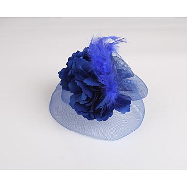 בד נוצה נטו fascinators headpiece קלאסי בסגנון נשי