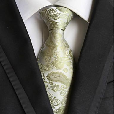 Herrn Muster Unregelmäßiger Stil Klassisch Party Hochzeit Ganzjährig Polyester Hals-Binder