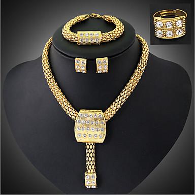 Vintage / Zabava - Žene - Ogrlica / Naušnica / Narukvica / Prsten (Pozlaćeni nakit / Legure / Kubični cirkon)
