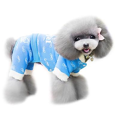 Psi Kaputi Plav / Narančasta Odjeća za psa Proljeće/Jesen Moda