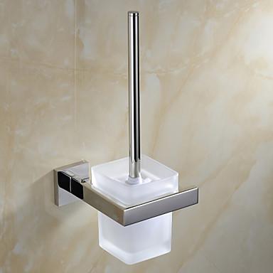 Toalettbørsteholder Moderne Rustfritt Stål 1 stk - Hotell bad