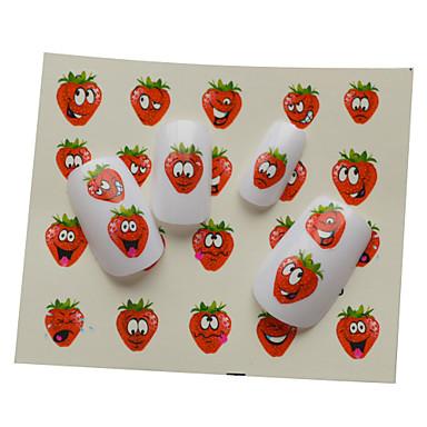 1 Nail Art tarra Vesi Siirto Tarra Cartoon Lovely meikki Kosmeettiset Nail Art Design
