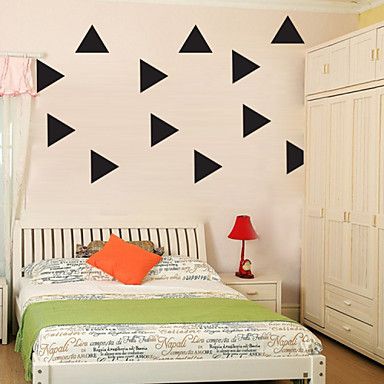 Muodot Wall Tarrat Lentokone-seinätarrat Koriste-seinätarrat materiaali Irroitettava Siirrettävä Kodinsisustus Seinätarra