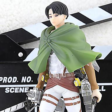 Anime Akcijske figure Inspirirana Napad na Titanu Cosplay PVC 20 CM Model Igračke Doll igračkama