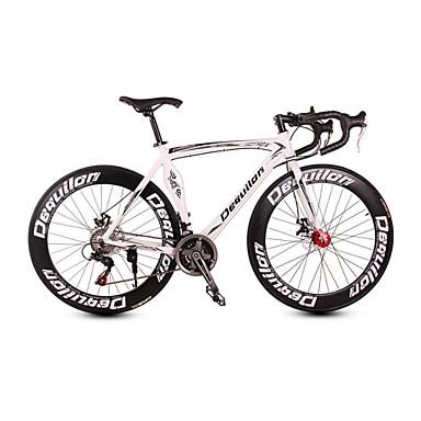 Road Bikes Pyöräily 21 Nopeus 26 tuumaa/700CC SHIMANO TX30 Levyjarru Ilmajousitus haarukka Alumiinirunko Alumiini
