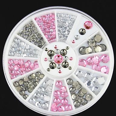 1 pcs Glitter Nail Jewelry Lovely kynsitaide Manikyyri Pedikyyri Päivittäin Muoti / Kynsien korut