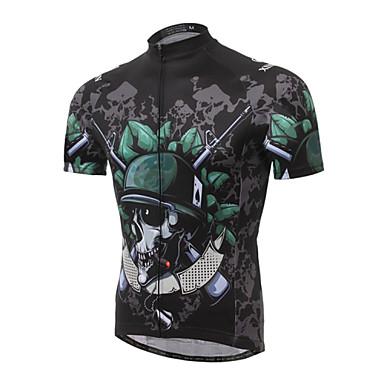 XINTOWN Biciklistička majica Muškarci Kratkih rukava Bicikl Biciklistička majica Majice Quick dry Ultraviolet Resistant Prozračnost
