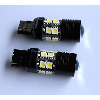 T20 / T25 / 1156/1157 5050-12smd + 1cree stop svjetlo za automobil rep red light svjetlo za vožnju unatrag strani marker svjetla bijela