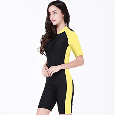 SBART Damen Diveskin-Anzug UV-resistant Handyhülle für das ganze Handy Chinlon Kurzarm Schutz gegen Hautausschlag Tauchanzüge Schwimmen