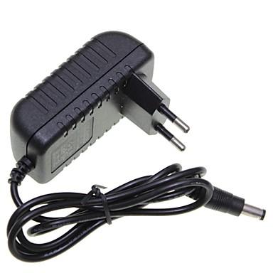 preiswerte Beleuchtungszubehör-Brelong 1 pc eu stecker 12v 1a 5,5 x 2,1mm led-streifen licht / cctv überwachungskamera monitor netzteil adapter dc2.1 ac100-240v