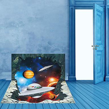 Tegneserie / Landskap / fantasi Wall Stickers 3D mur klistermærker,pvc 90*60cm