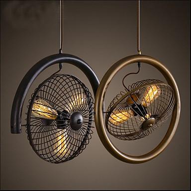 3-Licht Pendelleuchten Deckenfluter - Ministil, 110-120V / 220-240V, Wärm Weiß, Glühbirne nicht inklusive / 10-15㎡ / FCC / VDE