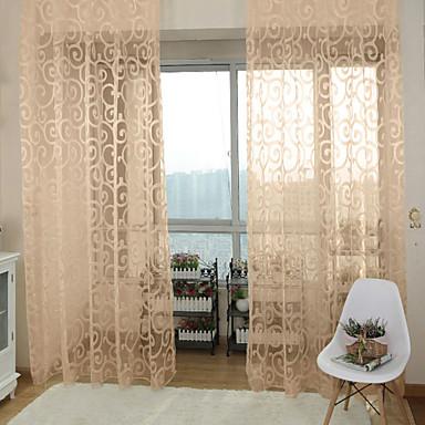 One Panel Window Hoito Kantri , Painettu Living Room Polyesteri materiaali verhot Drapes Kodinsisustus